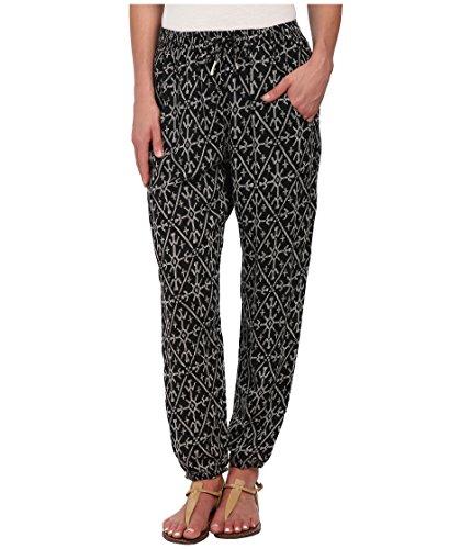 (Roxy Sunday Noon Harem Pants True Black Mirage Mark Size XS New )