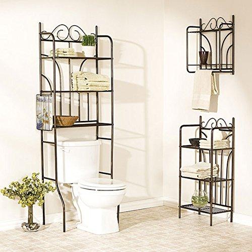 Harper Blvd Addison 3-piece Bathroom Collection, Brown by Harper Blvd (Image #4)