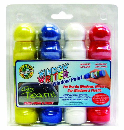 (Crafty Dab Window Writer - 4 Pack Clamshell)