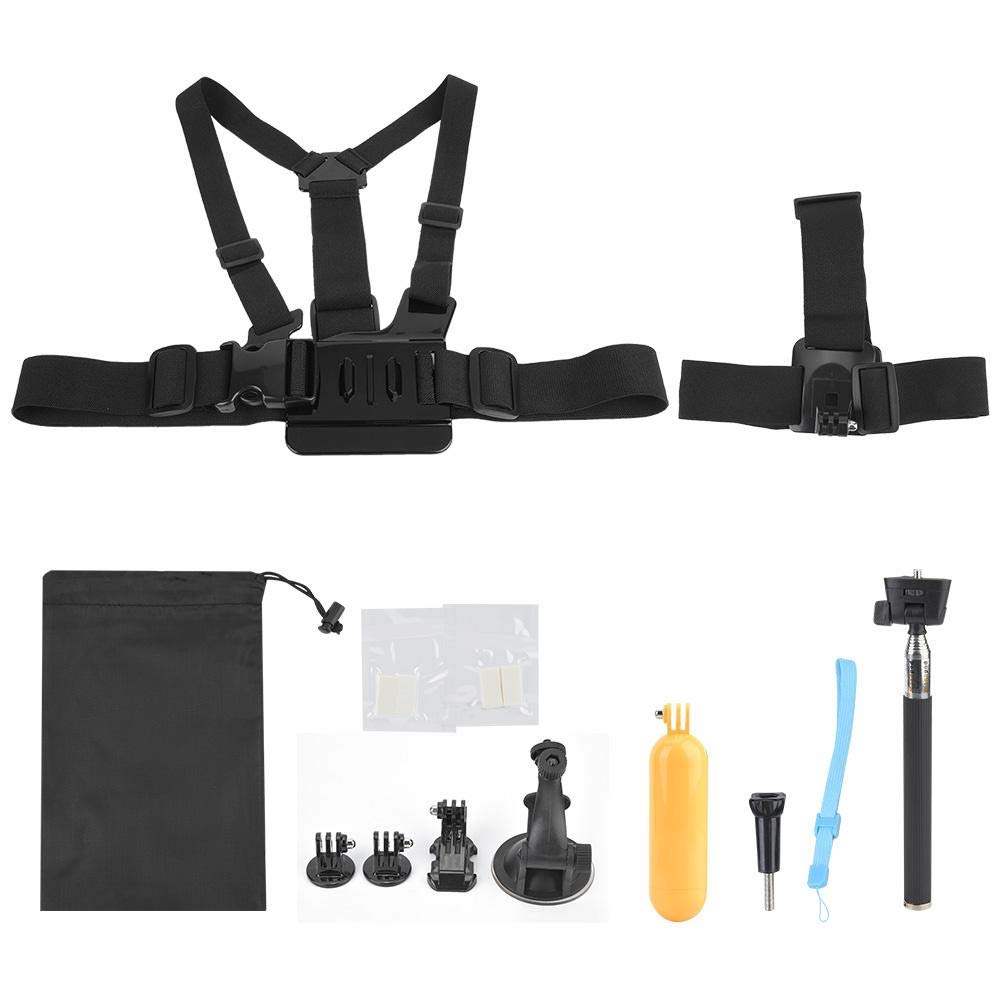 Sports Camera Accessories Kits Set,VBESTLIFE Universal Mount Action Camera Accessory for GoPro Xiaomi Yi SJCAM und for Users to take Pictures, Ideal for Trips, Videos, Camping, Sports, etc. by V BESTLIFE