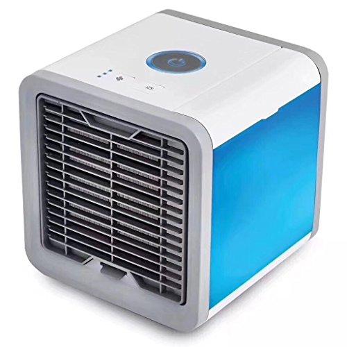 Jueven Ventilador de la Refrigeración USB humidificador Mini Ventilador de Aire Acondicionado Portátil, Air Cooler Air...