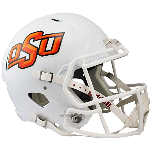 Oklahoma State Cowboys Officially Licensed NCAA Speed Full Size Replica Football Helmet by Riddell