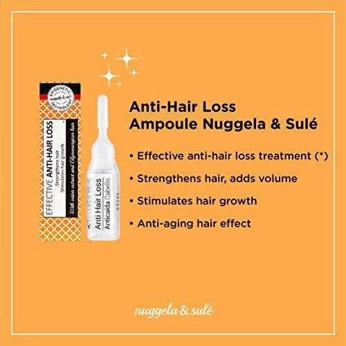 Nuggela & Sulé Ampolla Premium Tratamiento Capilar Anticaída (4 uds. de 10 ml.)