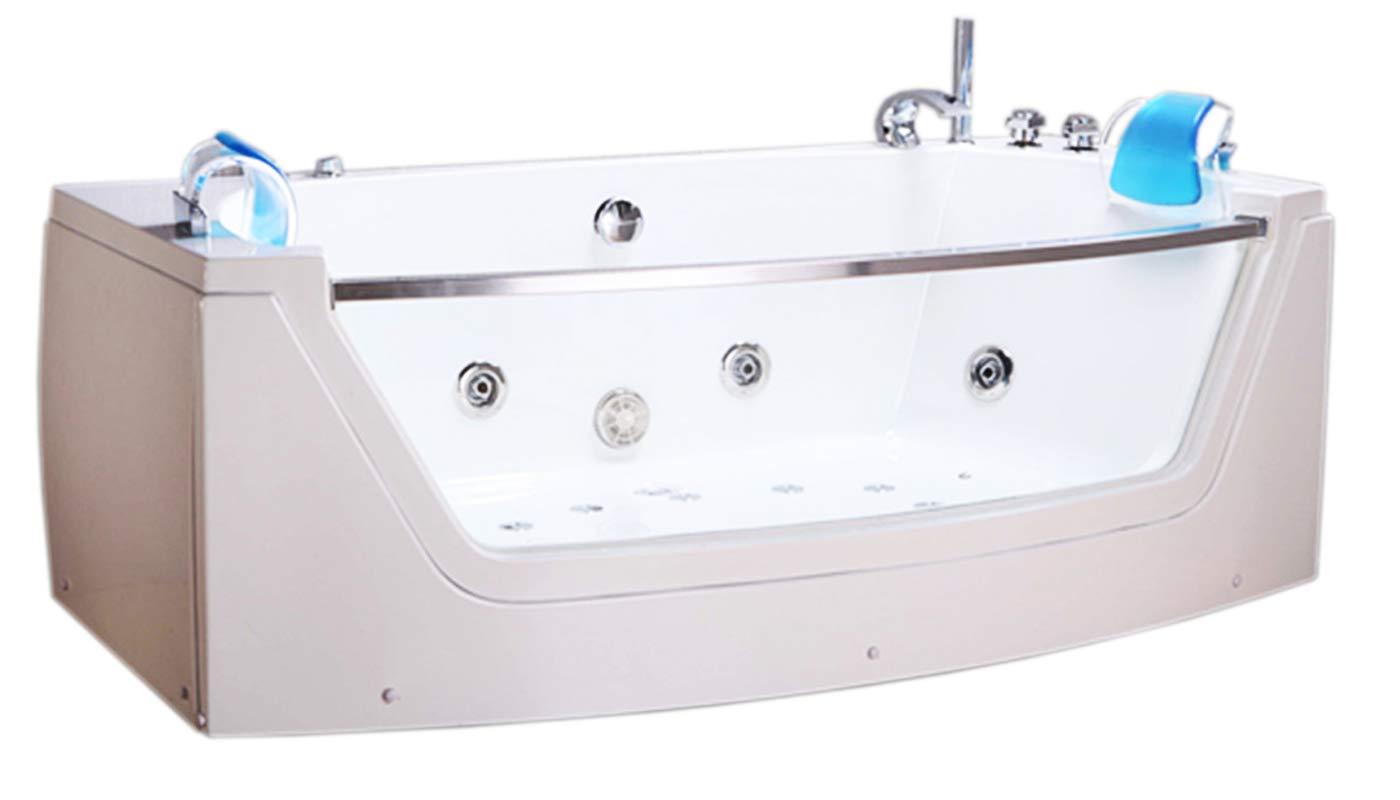 VASCA BAGNO IDROMASSAGGIO CROMOTERAPIA 2 PERS. NUOVA PRIVILEGE BATH TUB 180X90 simba