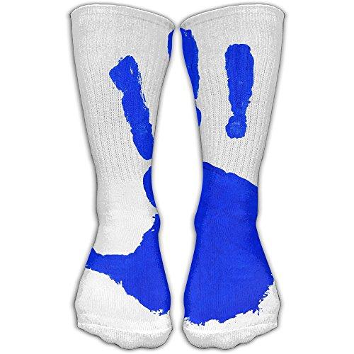 Kids Handprint Women & Men Socks Soccer Sport