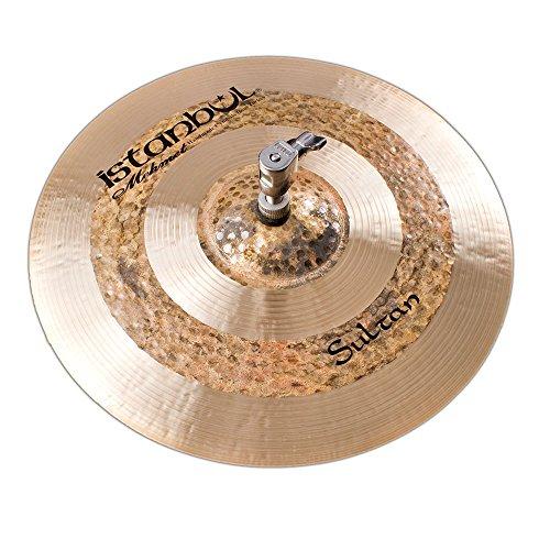 Istanbul Mehmet Cymbals Custom Series HHS13 13-Inch Sultan Hi-Hats Cymbal ()
