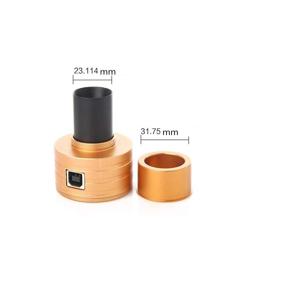 XUBA Astronomical Telescope/Microscope Electronic Eyepiece for Outdoor Sport 0.96 Inch 2 Megapixels Luxury Gold Color by XUBA (Image #7)