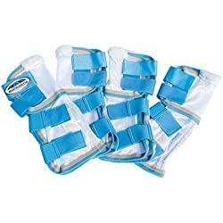 Weatherbeeta Insect Shield Mesh Leg Wraps WhiteRoyal, Full