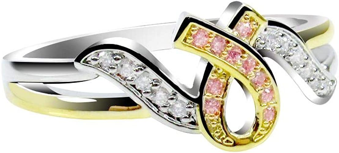 RUDRAFASHION 14k Yellow Gold Plated Round Cut Pink Ruby 925 Sterling Silver Mens Anniversary Band Ring