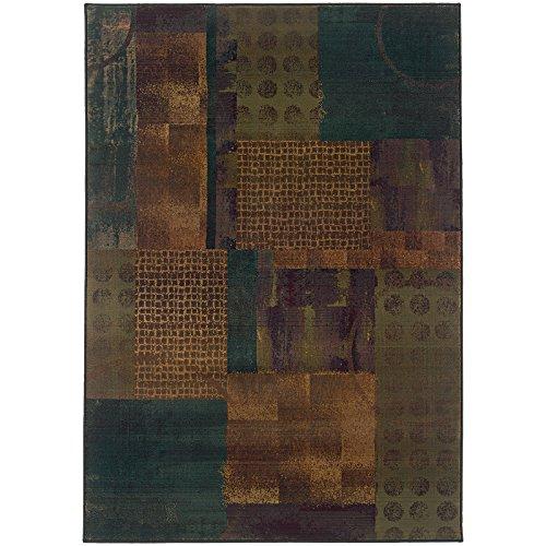Oriental Weavers Kharma-II 703x4 Area Rug, 2' x 3', Blue