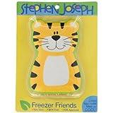 Stephen Joseph Freezer Friends Tiger Lunch Box, Orange