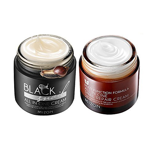 Mizon Black Snail All In One Cream 75ml + All In O…