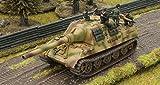 Flames Of War German Carius W/ Jagtiger & Crew (1 Vehicle, Late War, Gbx80)