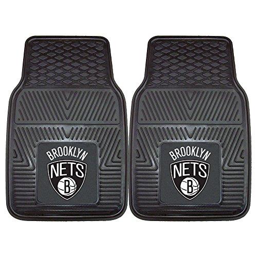 Fanmats 9342 NBA-New Jersey Nets Vinyl Universal Heavy Duty Fan Floor Mat