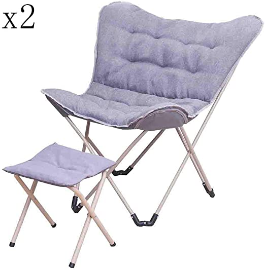 color : B Deckchairs Lounge chair Folding chair Lunch break chair folding chairs Portable outdoor fishing 2 colors