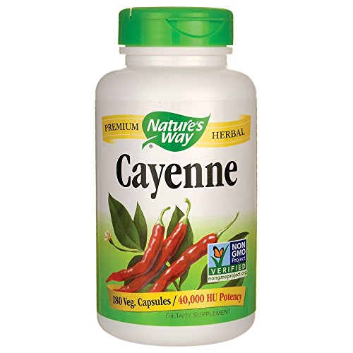 Cayenne 40000 Hu 180 Veg Capsules ()