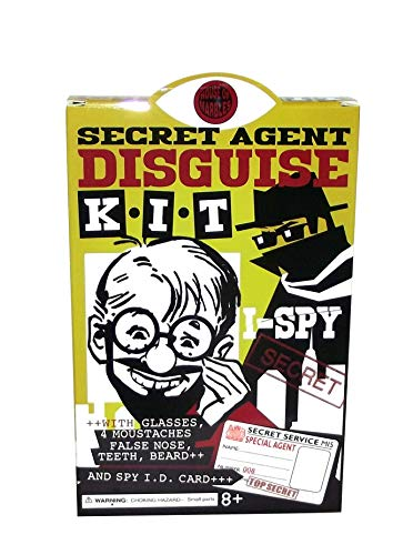 House of Marbles Secret Agent Disguise Kit, 9 Pieces