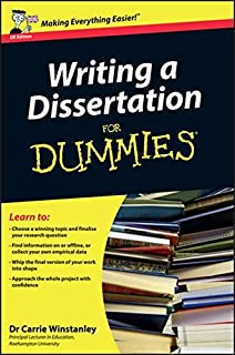 writing essays for dummies amazon co uk mary page carrie  writing a dissertation for dummies