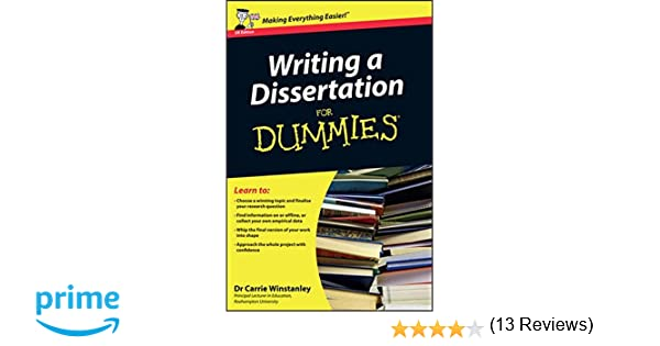 Writing a dissertation for dummies white paper