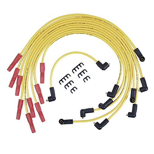 (ACCEL 8843 Performance 8.8mm Spiral Core Spark Plug Wire Set)