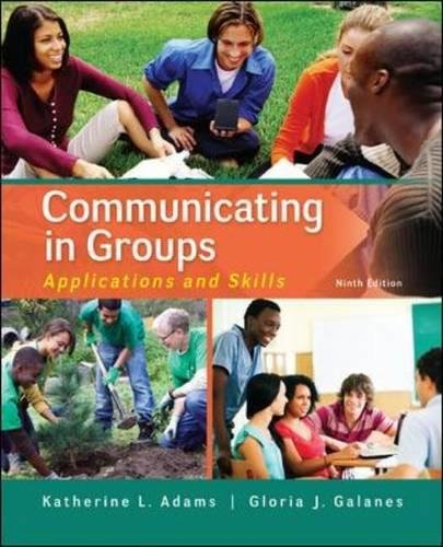 Communicating in Groups: Applications and Skills (Communication) cover