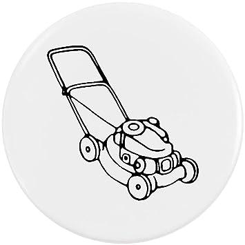 Azeeda 58mm Cortacésped Insignia de Botón Pin (BB00047948 ...