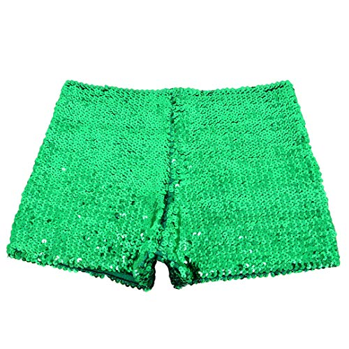 - Mocure Women' s Shiny Sequin Casual Shorts Stylish Hot Pants Shiny Minipants
