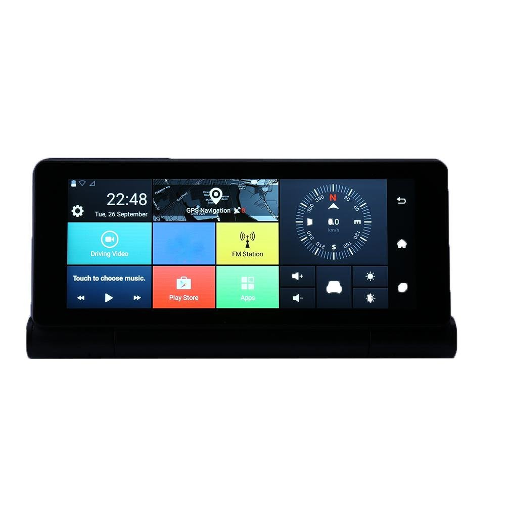 MKChung 6.86 inch GPS Navigation Bluetooth WiFi DVR Camera(With)(Russia) by MKChung