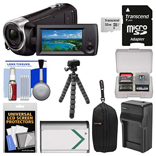 Bundle Handycam HDR-CX405 1080p HD Video Camera Camcorder wi