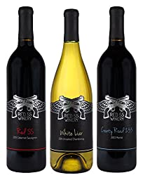 Miranda Lambert Dry Wines Mixed Pack, 3 x 750 ml