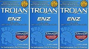 Trojan-Enz Spermicidal Lubricant Latex Condoms | CVS.com