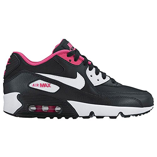 Nike Girl\u0026#39;s Air Max 90 Running Shoe (Mesh)