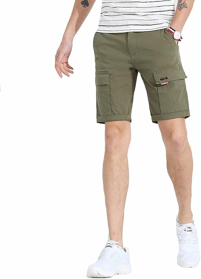 Pantalón Cargo Bermudas Pantalones Cortos para Hombres De 100 ...