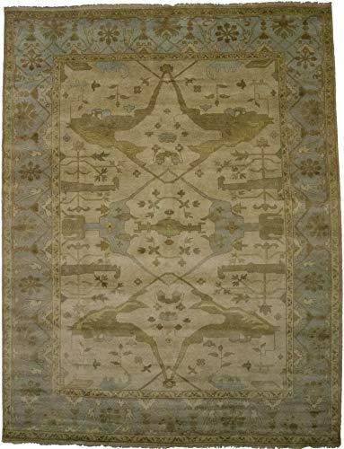 Admin Rugs Decorative Handmade Unique Floral Vintage Oushak Chobi Indian Area Rug Oriental Soft Plush Carpet ()