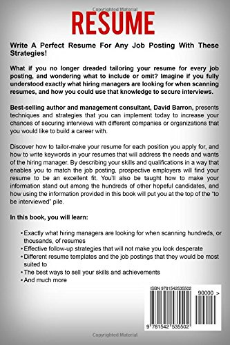 Resume The Definitive Guide on Writing a Professional Resume to