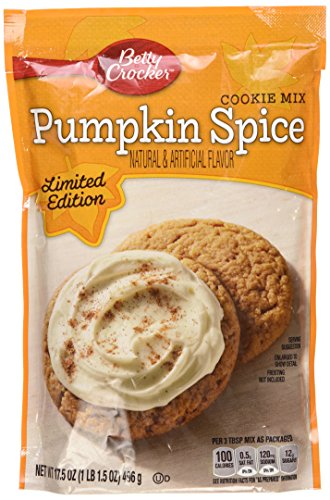 Betty Crocker Pumpkin Spice Cookie - Costumes Spice