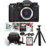 Fujifilm X-T3 Mirrorless Digital Camera Body (Black) Essential Accessory Bundle