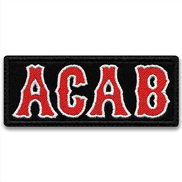 ACAB patch A.C.A.B patch