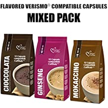 36 Flavored drinks mixed pods compatible with VERISMO system
