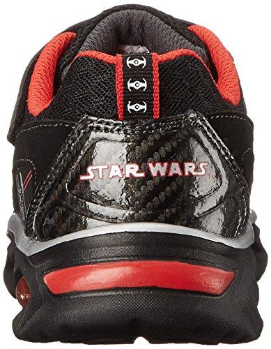 Star Wars Skechers Dynamo Continuem la zapatilla de deporte Black/Red