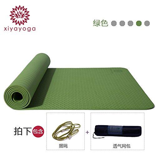 YOOMAT TPE-Yoga-Matten-Breites Starke Geschlecht Fitness-Matte Anti-Rutsch-und geruchloser Anfänger Yoga-Matte Sport Mat155878