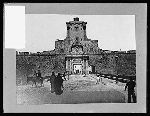 Vintography 16 x 20 Reprinted Old Photo ofGateway at Cadiz, Spain 1924 National Photo Co 98a by Vintography