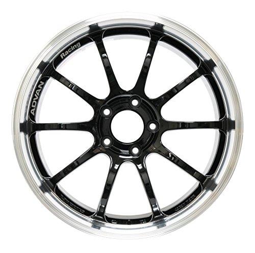 (Yokohama Wheel Advan RS-D Black Wheel with Painted Finish (18x9.5