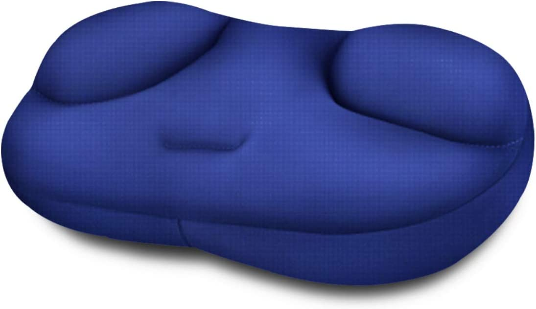Maywind 3D Pillow with Million Micro Airballs Sofa & Bed Positioner Ergonomic Pillows Different Softness and Coziness Free Sleeping Comfortable Relax Head Neck Back Support Machine Washable