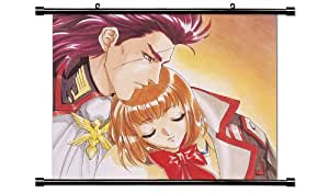 Angelique Anime Fabric Wall Scroll Poster (32 x 28) Inches