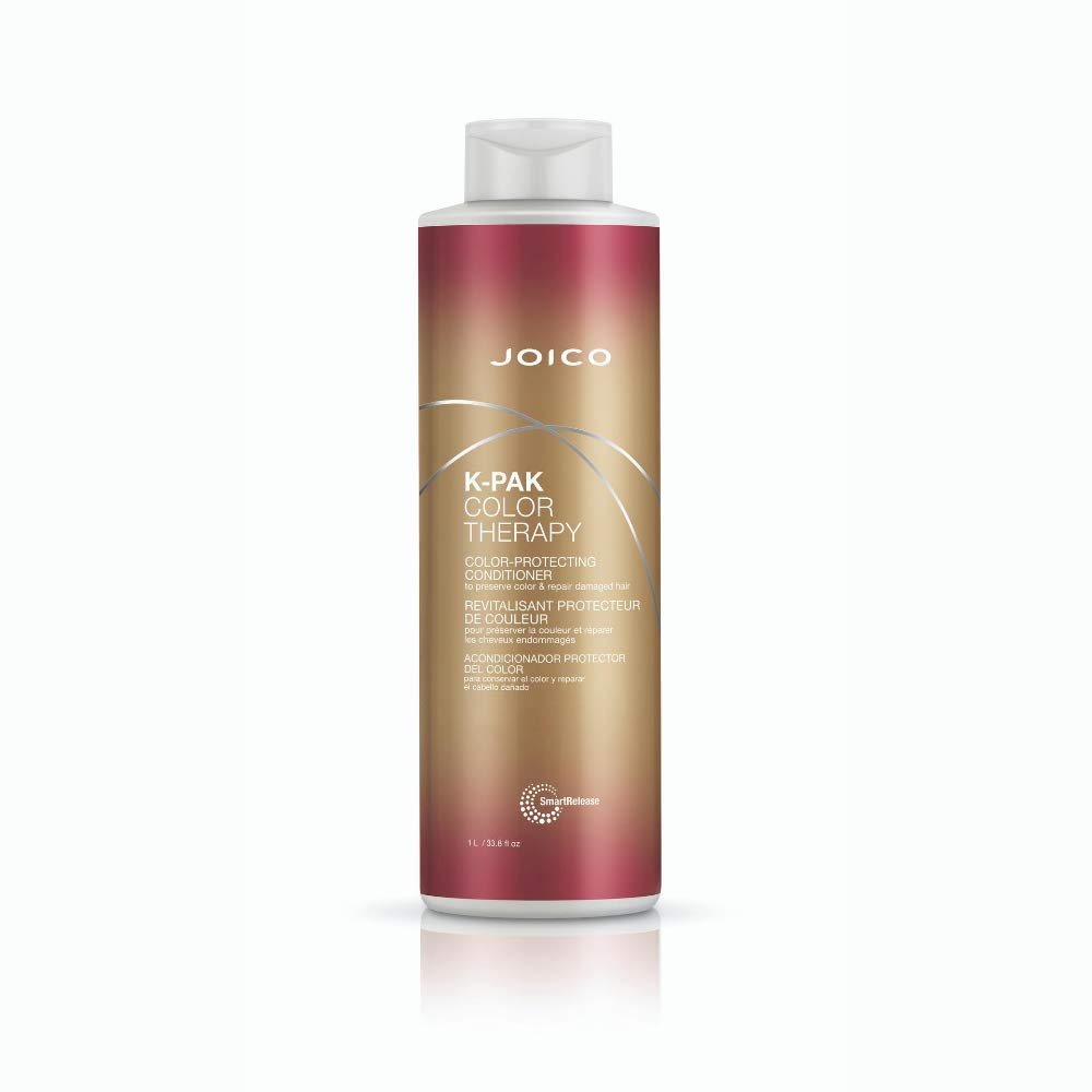 Joico K-PAK Color Therapy Color-Protecting Conditioner | Preserve Color & Repair Damaged Hair | Hydrate & Boost Shine | For Color-Treated Hair