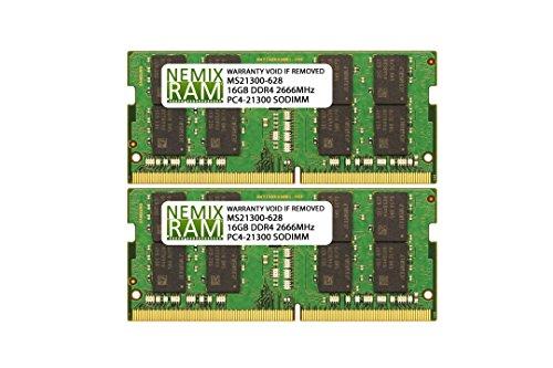 64GB 2X32GB NEMIX RAM Memory for Apple Mac Mini 2018