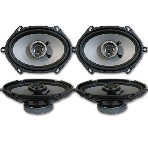Crunch CS5768CX 5x7 / 6x8 2-Way Car Audio coaxial Speakers (2 Pairs)