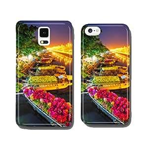 Ships at Saigon Flower Market at Tet, Vietnam cell phone cover case Samsung S6
