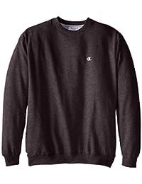 Champion Mens Big-Tall Big-Tall Fleece Crew Sweatshirt